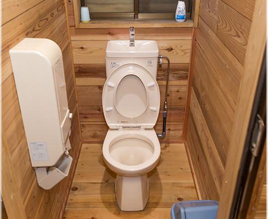 宿泊者用トイレ